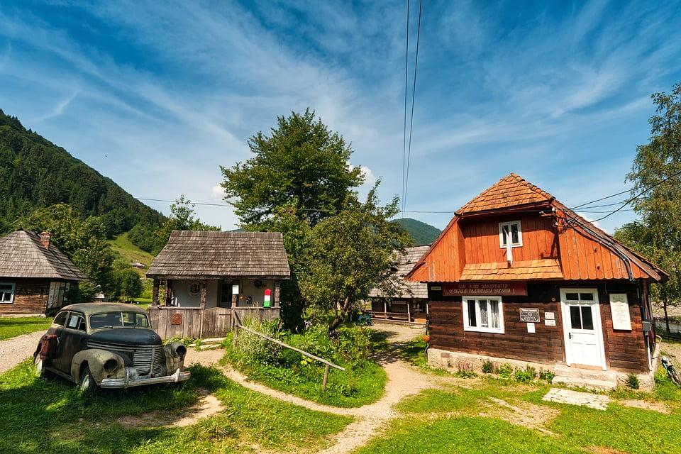 Изображение - Вид на жительство в украине kolochava-ukraine-zakarpattya-open-air-museum-2448869